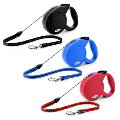 Flexi Explore Retractable 23-Foot Small Dog Leash in Blue