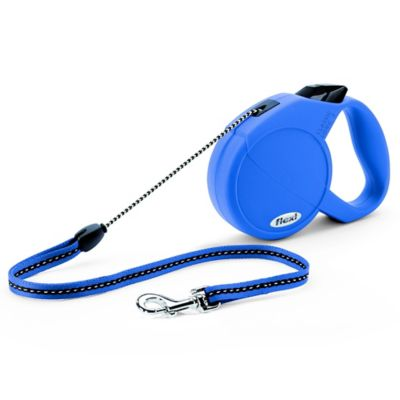 Flexi Explore Retractable 23-Foot Medium Dog Leash in Blue