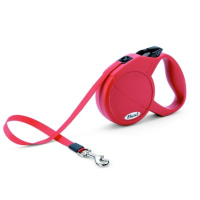 Flexi Durabelt 16-Foot Small Retractable Dog Leash in Red