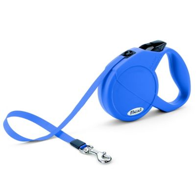 Flexi Durabelt 16-Foot Small Retractable Dog Leash in Blue