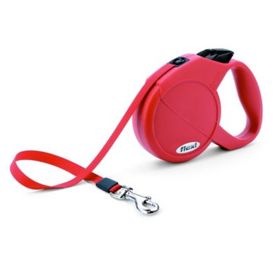 Flexi Durabelt 16-Foot Medium Retractable Dog Leash in Red
