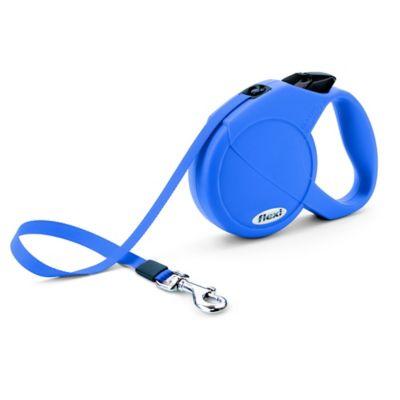 Flexi Durabelt 16-Foot Medium Retractable Dog Leash in Blue