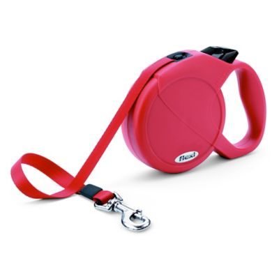 Flexi Durabelt 16-Foot Large Retractable Dog Leash in Red