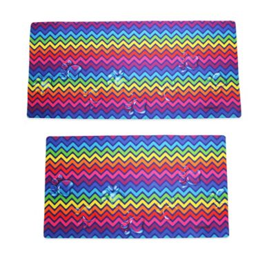 Drymate® Small Chevron Dog Bath and Grooming Mat