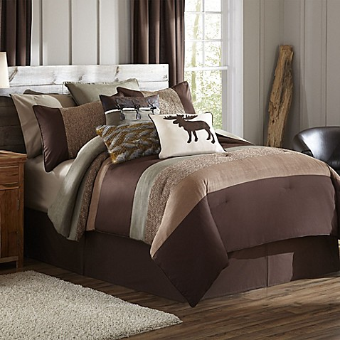 Cabela S 174 Stowe Creek Comforter Set Bed Bath Amp Beyond
