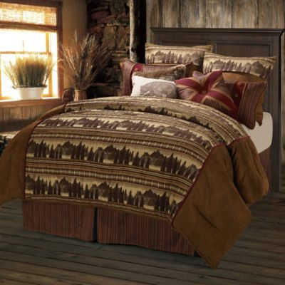 HiEnd Accents Briarfield Full Comforter Set