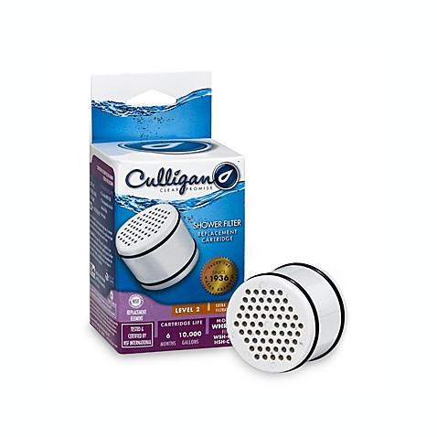 buy culligan shower filter replacement cartridge from bed bath beyond. Black Bedroom Furniture Sets. Home Design Ideas