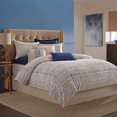 Wamsutta® Tapestry Queen Comforter Set in Blue