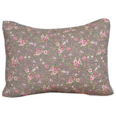 Cottage Rose Standard Pillow Sham