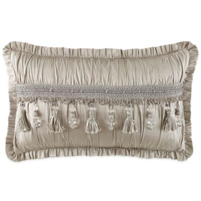 Waterford® Linens Colleen Oblong Throw Pillow