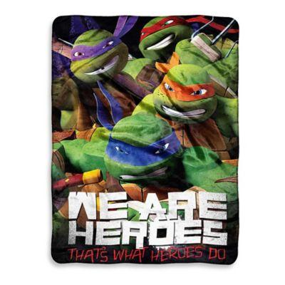 TMNT™ We Are Heroes Micro-Raschel Throw