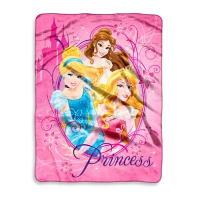 Disney® Princesses Graceful Micro-Raschel Throw