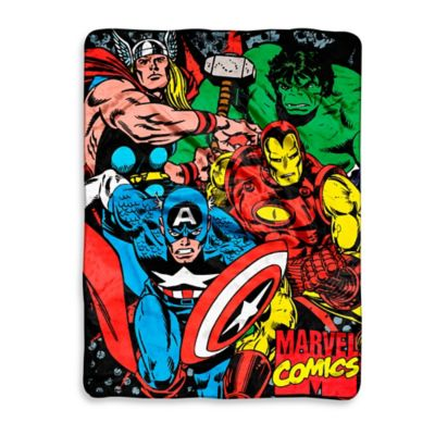 Marvel® Avengers We Fight Micro-Raschel Throw
