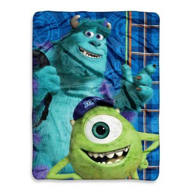 Disney® Monsters U Greek Geeks Micro-Raschel Throw