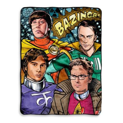 Big Bang Theory Cosplay Micro-Raschel Throw