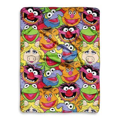 Muppet Mania Micro-Raschel Throw
