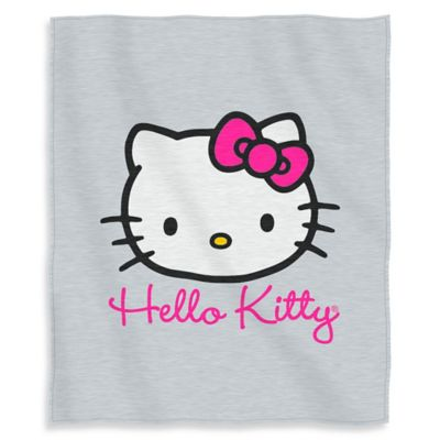 Hello Kitty Cursive Kitty Sweatshirt Throw