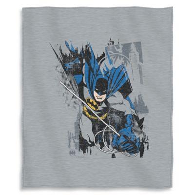 Batman Bat Jump Sweatshirt Throw