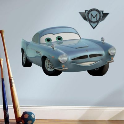 Disney® Cars 2 Finn McMissile Peel and Stick Giant Wall Decals
