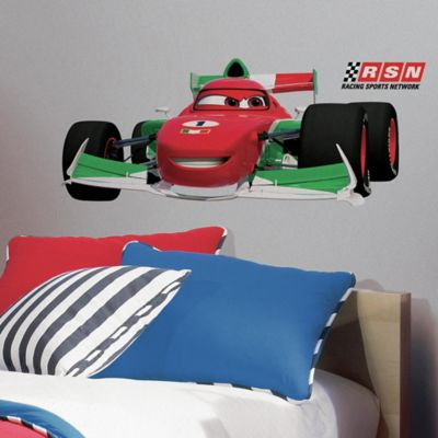 Disney® Cars 2 Francesco Peel and Stick Giant Wall Decals