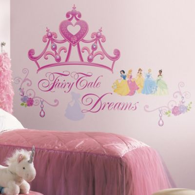 Disney® Princess Crown Peel and Stick Giant Wall Decals