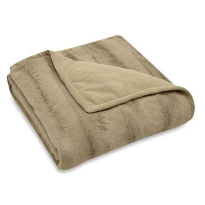 Mink Reversible Throw Blankets