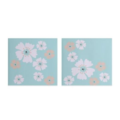 MiGi Fun Floral 2-Piece Wall Art Set