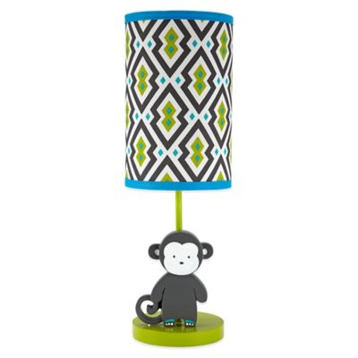 Jonathan Adler Safari Monkey Lamp and Shade