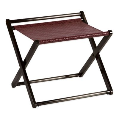 Bombay® Connery Luggage Rack in Dark Brown