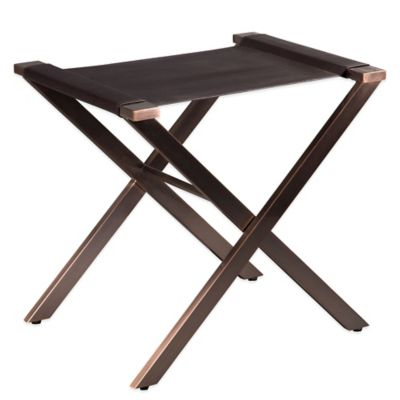 Bombay® Palmer Luggage Rack in Bronze