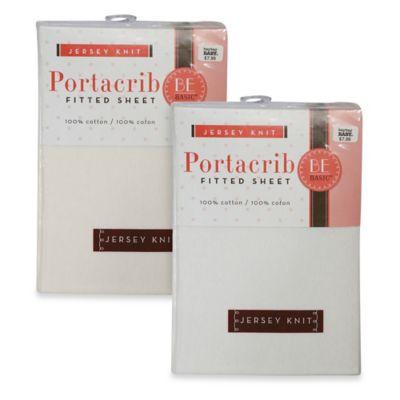 Portacrib Sheet in White