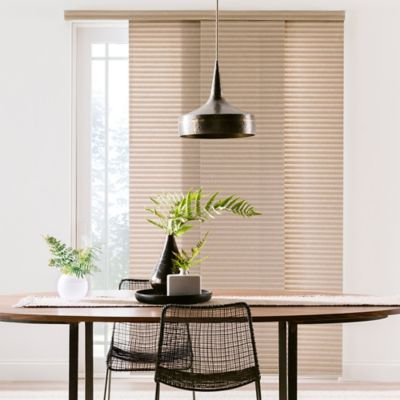 Black Simple Window Treatments