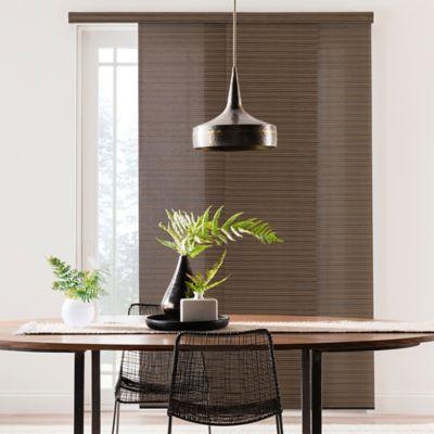 Black Brown Window Panel
