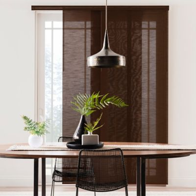 Real Simple® Adjustable Deluxe Panel System in Walnut