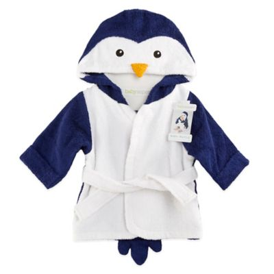 Baby Aspen Wash & Waddle Penguin Hooded Spa Bathrobe