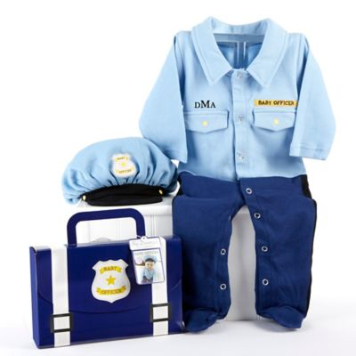 "Baby Aspen Big Dreamzzz 2-Piece ""Baby Officer"" Layette Set"