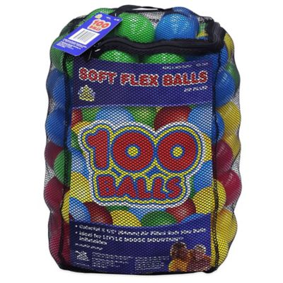 100-Pack Balls In A Mesh Bag