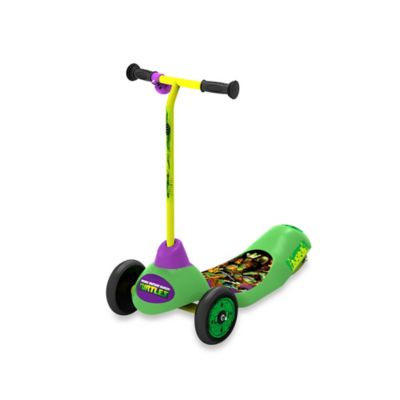 Teenage Mutant Ninja Turtles Safe Start 3-Wheel Electric Scooter