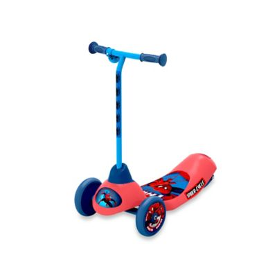 Marvel Ultimate Spider-Man Safe Start 3-Wheel Electronic Scooter