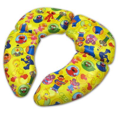 Ginsey Sesame Street® Cushioned Folding Travel Potty Seat