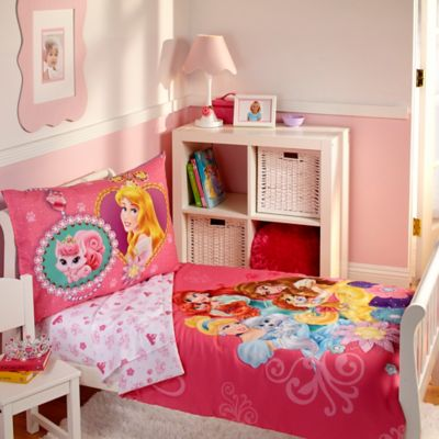 Disney® Palace Pets 4-Piece Toddler Bedding Set