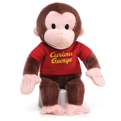 Gund® Curious George with Red Shirt Plush