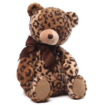 Gund® Jayme Leopard Print Teddy Bear Plush