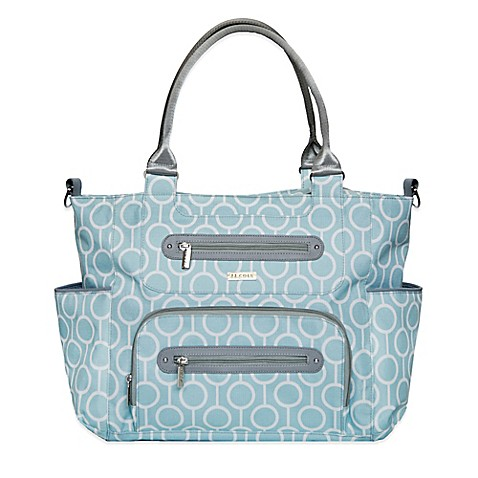 buy jj cole caprice diaper bag in aqua radian from bed bath beyond. Black Bedroom Furniture Sets. Home Design Ideas
