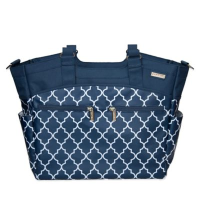 JJ Cole® Camber Diaper Bag in Navy Arbor