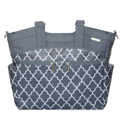 JJ Cole® Camber Diaper Bag in Stone Arbor