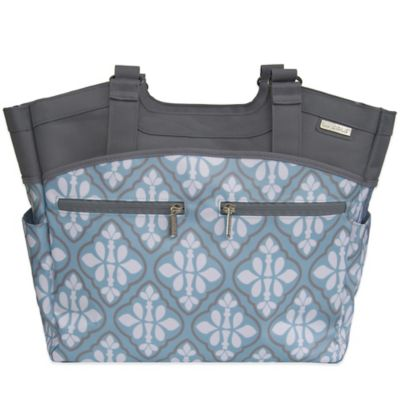 JJ Cole® Camber Diaper Bag in Blue Iris