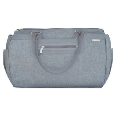 JJ Cole® Parker Weekender Diaper Bag in Grey Heather