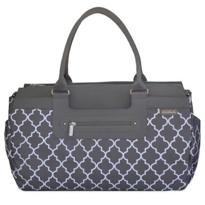 JJ Cole® Parker Weekender Diaper Bag in Stone Arbor