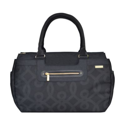 JJ Cole® Parker Weekender Diaper Bag in Black and Gold